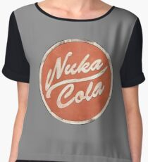 Fallout - Nuka Cola Patch Chiffon Top