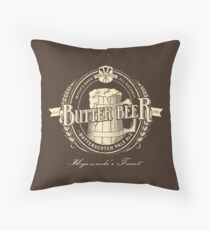A Vintage Brew Throw Pillow