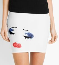 Minifalda Hedwig y el maquillaje de Angry Inch