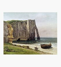 Gustave Courbet - The Cliffs At Etretat Photographic Print