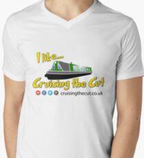 """I like Cruising The Cut"" V-Neck T-Shirt"