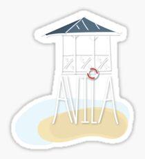 Avila Beach Sticker Sticker