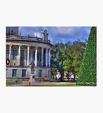 Xmas at City Hall Photographic Print