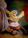 Foot-washing by Elizabeth Kendall