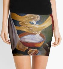 Foot-washing Mini Skirt