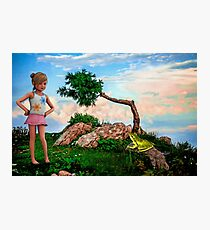 The Princess and the Frog Photographic Print