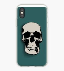 Skull - Sherlock iPhone Case