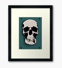 Skull - Sherlock Framed Print