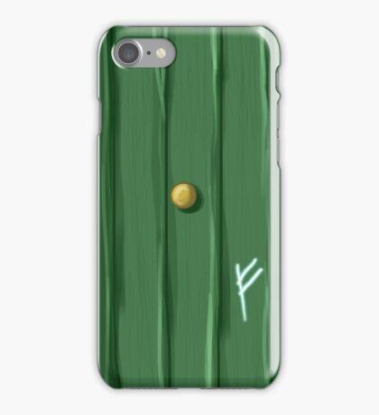 Bilbo's door iPhone Case/Skin