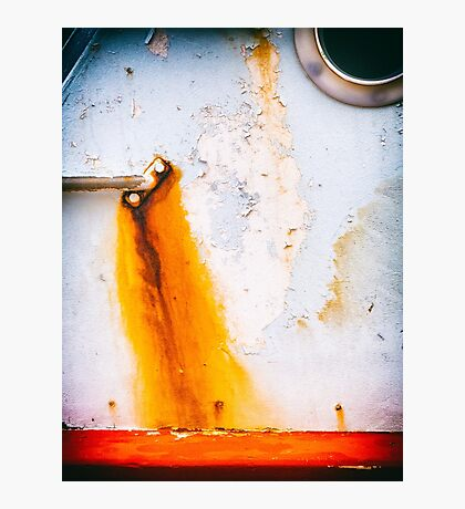 Abstract boat detail Photographic Print