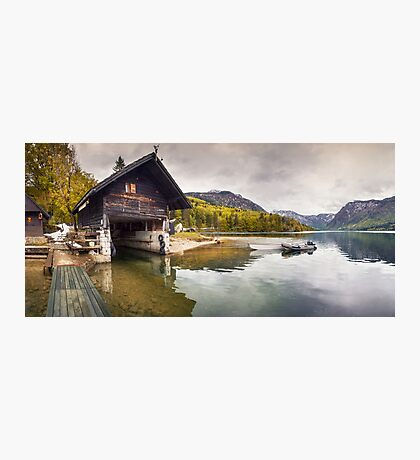 Lake Bohinj Photographic Print