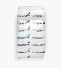 Illustration des opérateurs Airbus A380 Housse de couette