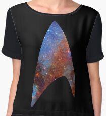 Starfleet Space Chiffon Top