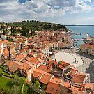 Piran panorama by Dominika Aniola