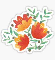 Light Afternoon Blossoms Sticker