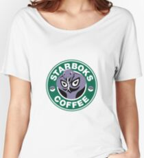 Starboks Coffee Women's Relaxed Fit T-Shirt