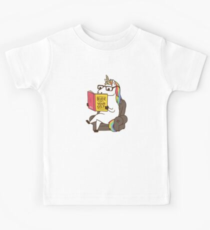 Unicorn Believe in Yourself Magical Fabulous Kids Clothes