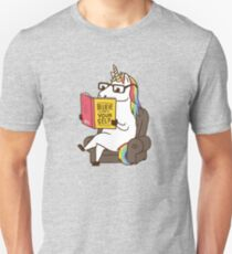 Unicorn Believe in Yourself Magical Fabulous Unisex T-Shirt