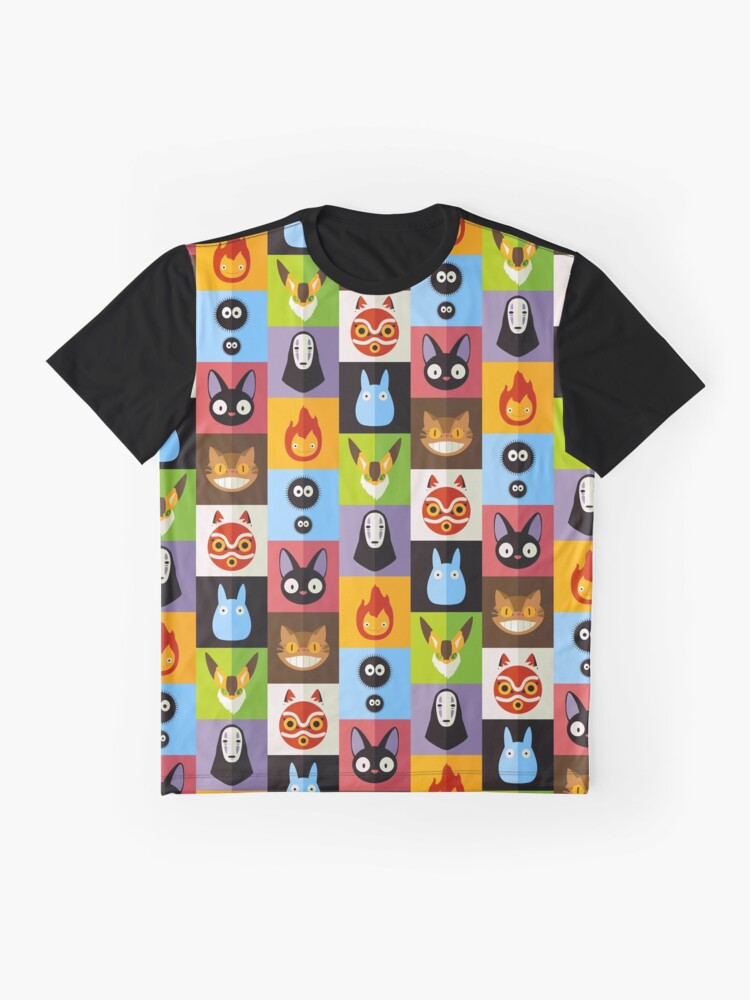 Alternative Ansicht von Miyazaki Grafik T-Shirt