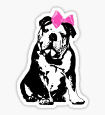 Betty Bulldog Sticker