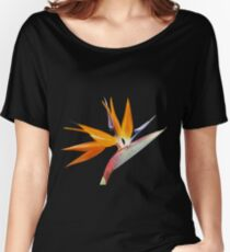 The Bird of Paradise Flower Women's Relaxed Fit T-Shirt