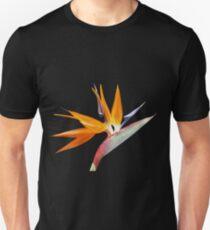 The Bird of Paradise Flower Unisex T-Shirt