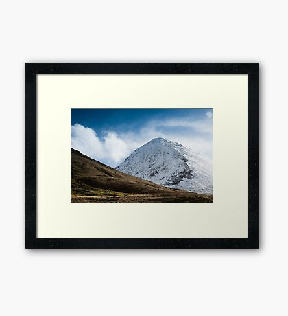 Scotland in Winter Framed Print