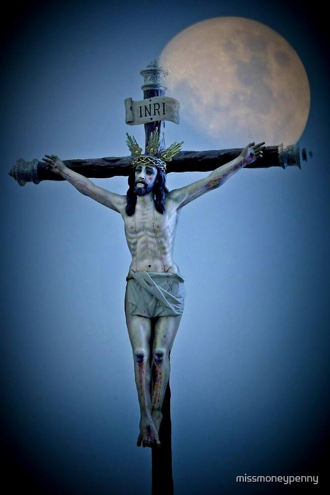 Crucifixion darkness by missmoneypenny