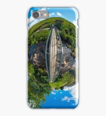 Footbridge over Glen River, Carrick, SW Donegal iPhone Case/Skin