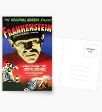 Frankenstein movie poster Postcards