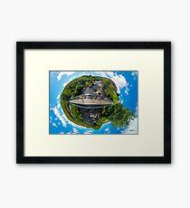 Footbridge over Glen River, Carrick, SW Donegal Framed Print