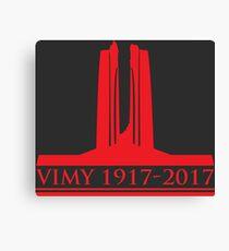 Vimy 100th Commemoration Canvas Print