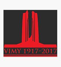 Vimy 100th Commemoration Photographic Print