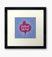 Beetroot to Yourself Framed Print