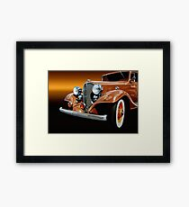1933 Buick Coupe Framed Print