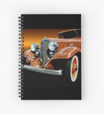 1933 Buick Coupe Spiral Notebook