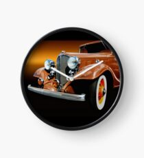 1933 Buick Coupe Clock