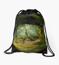 Ness Glen, Mystical Irish Wood Drawstring Bag