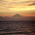 Mt. Fuji Sunset V by Mui-Ling Teh