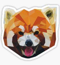 Red Panda Tee Shirt Sticker