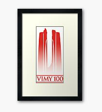 Vimy 100th Anniversary Framed Print