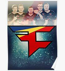 Faze CS:GO poster Poster
