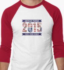 American Pharoah Winner Men's Baseball ¾ T-Shirt