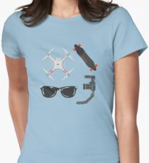 Vlogger Kit Womens Fitted T-Shirt