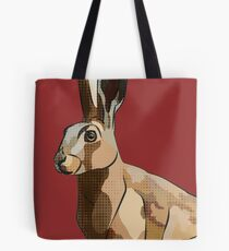 Hattie's Hare (Spring Hare Easter Bunny) Tote Bag