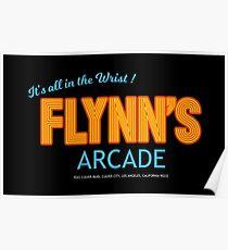 Tron - Flynn's Arcade Original HD Poster
