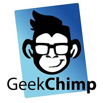 Geek Chimp T-Shirt by wellcesar
