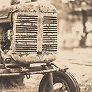 Old Vintage Tractor Woodstock Vermont by Edward Fielding