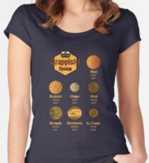 Trappist-1 Beer Women's Fitted Scoop T-Shirt