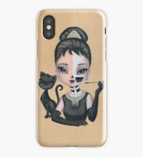 Skully Audrey iPhone Case/Skin